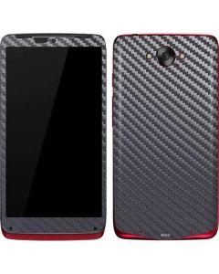 Silver Carbon Fiber Motorola Droid Skin