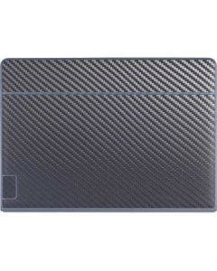 Silver Carbon Fiber Galaxy Book Keyboard Folio 12in Skin