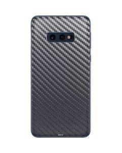 Silver Carbon Fiber Galaxy S10e Skin