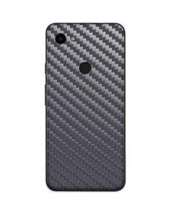 Silver Carbon Fiber Google Pixel 3a Skin