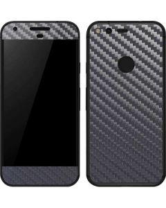Silver Carbon Fiber Google Pixel Skin