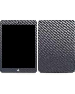 Silver Carbon Fiber Apple iPad Skin