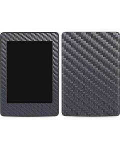 Silver Carbon Fiber Amazon Kindle Skin