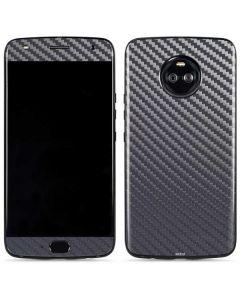Silver Carbon Fiber Moto X4 Skin