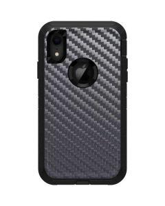 Silver Carbon Fiber Otterbox Defender iPhone Skin