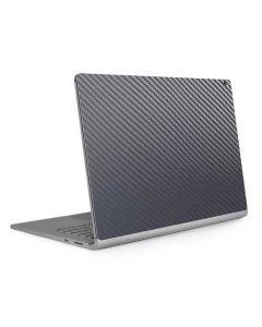 Silver Carbon Fiber Surface Book 2 15in Skin