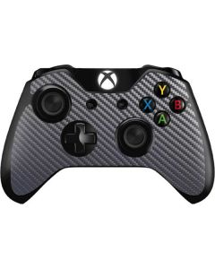 Silver Carbon Fiber Xbox One Controller Skin