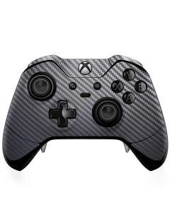 Silver Carbon Fiber Xbox One Elite Controller Skin