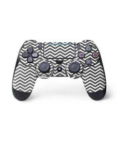 Silver Chevron PS4 Pro/Slim Controller Skin