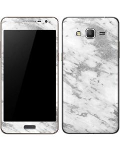 Silver Marble Galaxy Grand Prime Skin