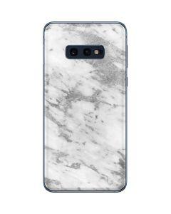 Silver Marble Galaxy S10e Skin