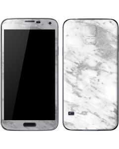 Silver Marble Galaxy S5 Skin