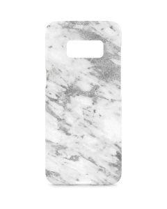Silver Marble Galaxy S8 Plus Lite Case