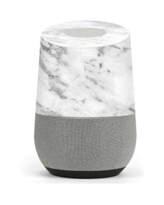 Silver Marble Google Home Skin