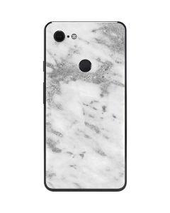 Silver Marble Google Pixel 3 XL Skin