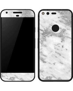 Silver Marble Google Pixel Skin