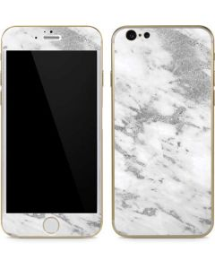 Silver Marble iPhone 6/6s Skin