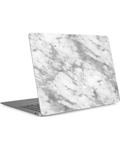 Silver Marble Apple MacBook Air Skin