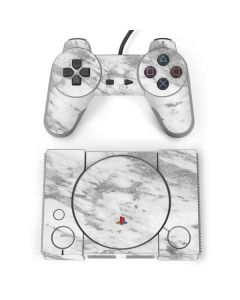 Silver Marble PlayStation Classic Bundle Skin