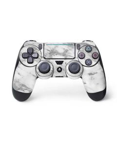 Silver Marble PS4 Pro/Slim Controller Skin