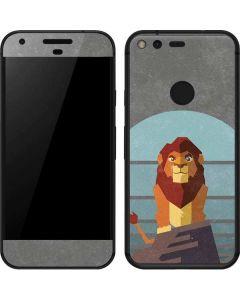 Simba On Pride Rock Google Pixel Skin