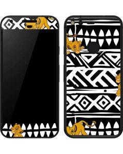Simba Tribal Print Google Pixel Skin