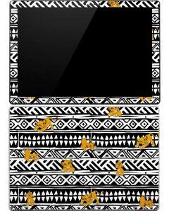 Simba Tribal Print Surface Pro (2017) Skin