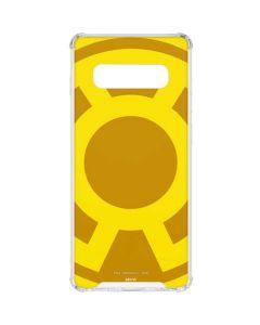 Sinestro Emblem Galaxy S10 Plus Clear Case