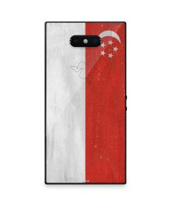 Singapore Flag Distressed Razer Phone 2 Skin