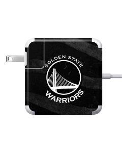 Golden State Warriors Black Animal Print Apple Charger Skin