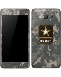 US Army Logo on Digital Camo Galaxy Grand Prime Skin