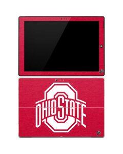 OSU Ohio State Buckeyes Red Logo Surface Pro 3 Skin