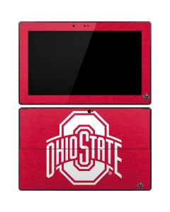 OSU Ohio State Buckeyes Red Logo Surface Pro Tablet Skin