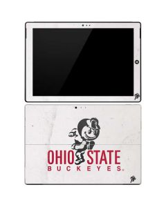 OSU Ohio State Buckeyes Light Grey Surface Pro 3 Skin