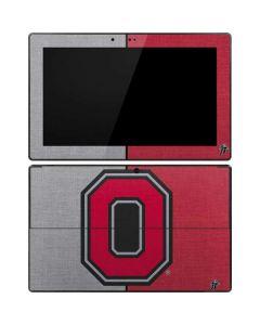 OSU Ohio State Buckeyes Split Surface Pro Tablet Skin