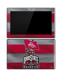 OSU Ohio State Buckeyes Flag Surface Pro Tablet Skin