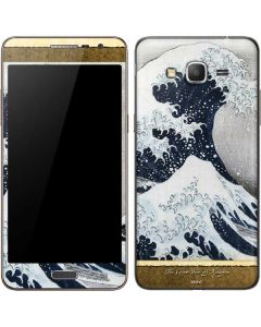 The Great Wave off Kanagawa Galaxy Grand Prime Skin