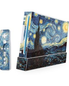 van Gogh - The Starry Night Wii (Includes 1 Controller) Skin