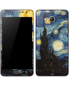 van Gogh - The Starry Night Galaxy Grand Prime Skin