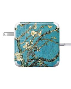 Almond Branches in Bloom Apple Charger Skin