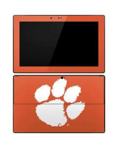 Clemson Paw Mark Surface Pro Tablet Skin