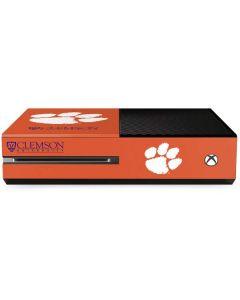Clemson Paw Mark Xbox One Console Skin