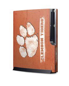 Clemson Tigers Vintage Playstation 3 & PS3 Slim Skin
