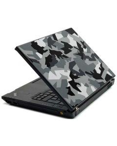 Urban Camouflage Black Lenovo T420 Skin