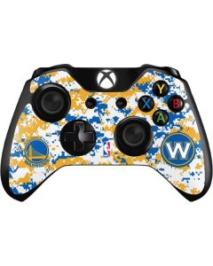 Golden State Warriors Digi Camo Xbox One Controller Skin