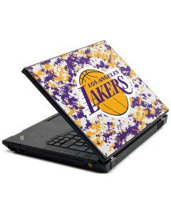 Los Angeles Lakers Digi Camo Lenovo T420 Skin