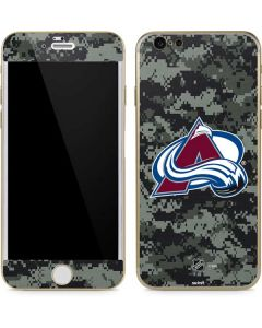 Colorado Avalanche Camo iPhone 6/6s Skin