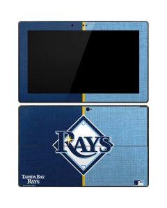 Tampa Bay Rays Split Surface Pro Tablet Skin