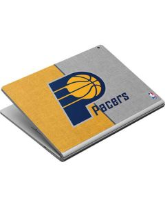 Indiana Pacers Canvas Surface Book Skin