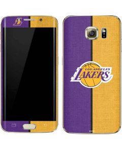 Los Angeles Lakers Canvas Galaxy S7 Edge Skin